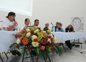 The panel participants.
