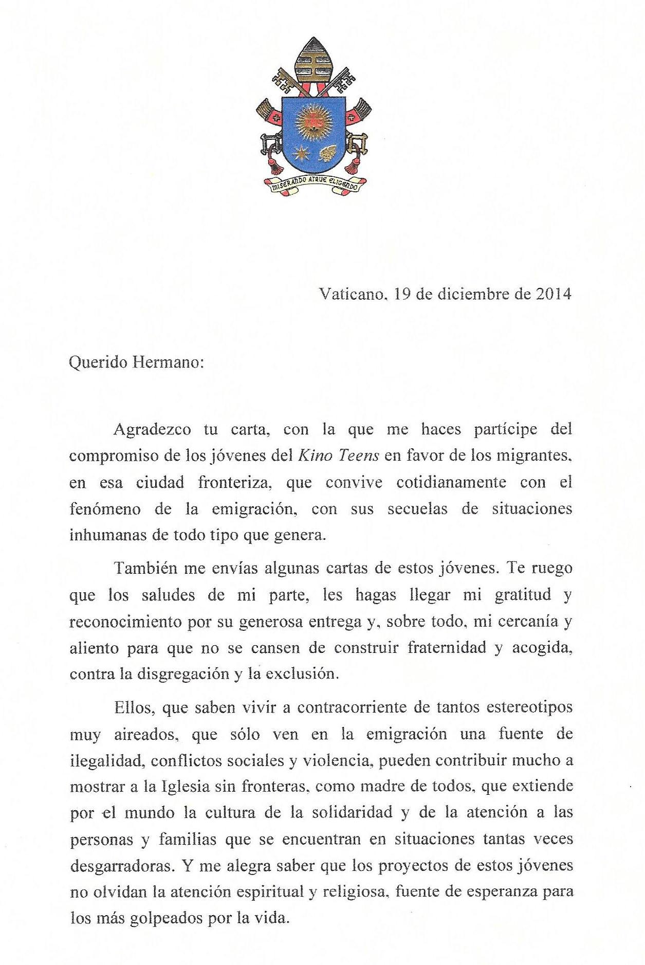Carta Para Un Amigo Inmigracion Www Imagenesmy Com