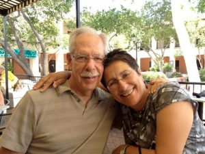 Larry and Rosemarie Hanelin, enjoying some R&R together in Tucson.