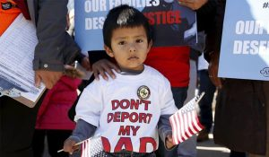 The United States has renewed efforts to deport Central American immigrants. Photo from Jesuit Conference of Canada and the U.S. and Jesuit Refugee Service/USA email alert.