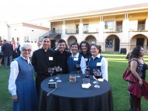 Hung Nguyen with Missionary Sisters of the Eucharist.